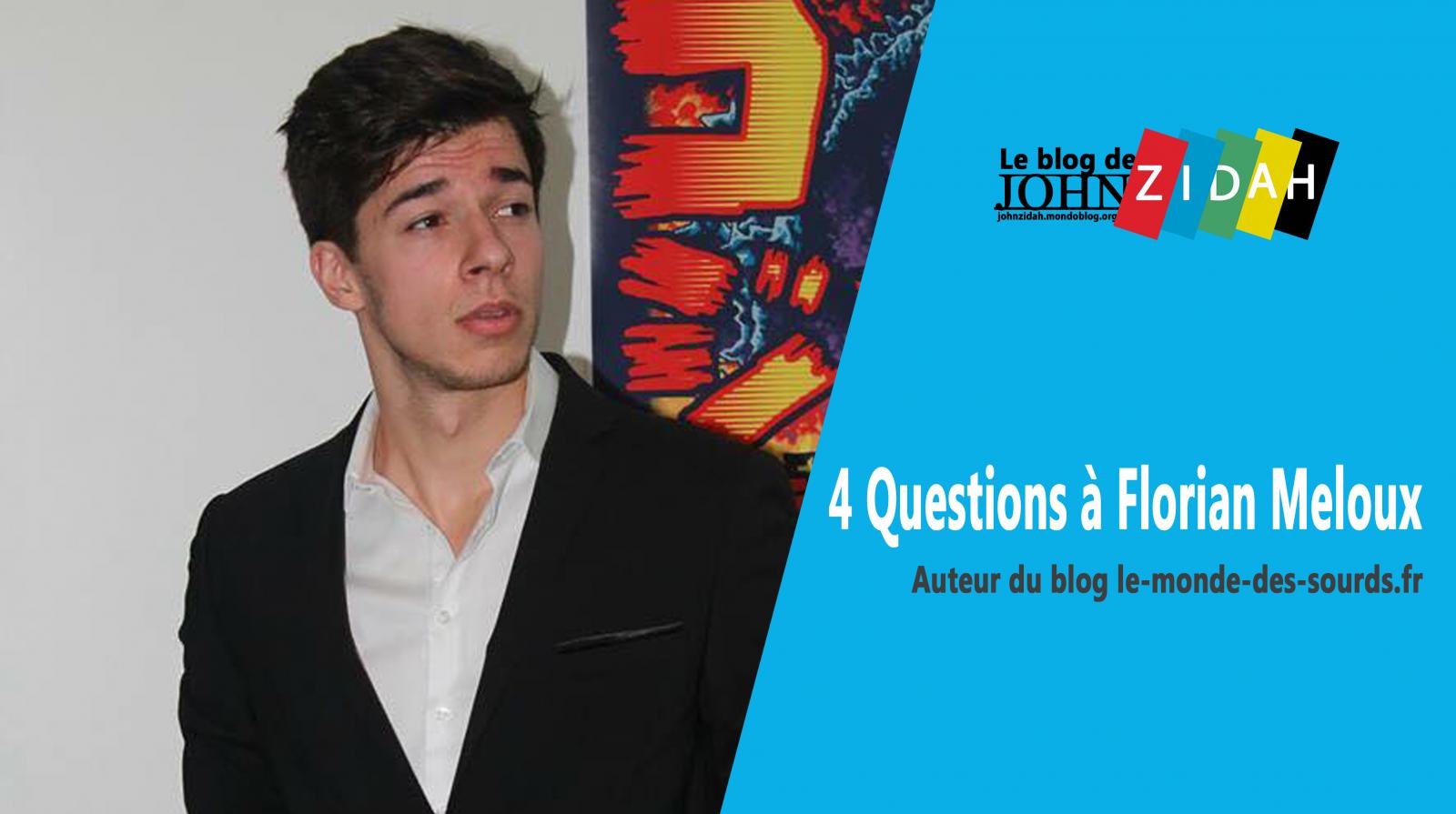Avec son blog, Florian Meloux veut que les sourds «rêvent plus grand»